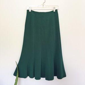 H&M Dresses & Skirts - H&M Green Midi Skirt