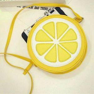 Handbags - Lemon Crossbody Bag