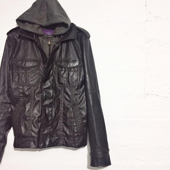 9f195d81 Zara Jackets & Coats   Mens Hooded Jacket In Dark Brown   Poshmark