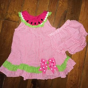 Rare Editions Other - Rare Editions Watermelon Sundress