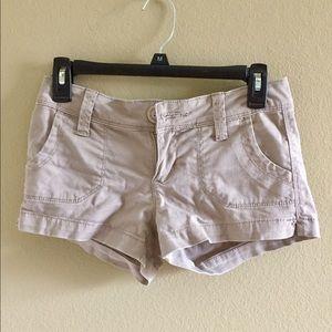 Pants - Tan shorts