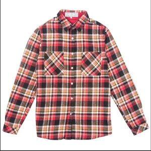 Poler Tops - Women's Poler Stuff long sleeved button up flannel
