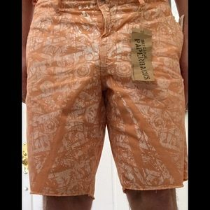 Original Paperbacks Other - Original Paperbacks Tahiti Men's Shorts Orange 34