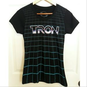 NWOT Disney Tron Tshirt in Black