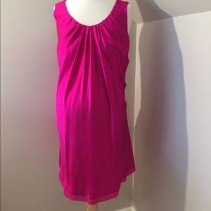 Fierce Mamas Dresses - Fierce Mamas Charmeuse Tunic Maternity Dress