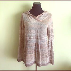 Prana Tops - 🌜prAna loose hooded high-low tunic sweater