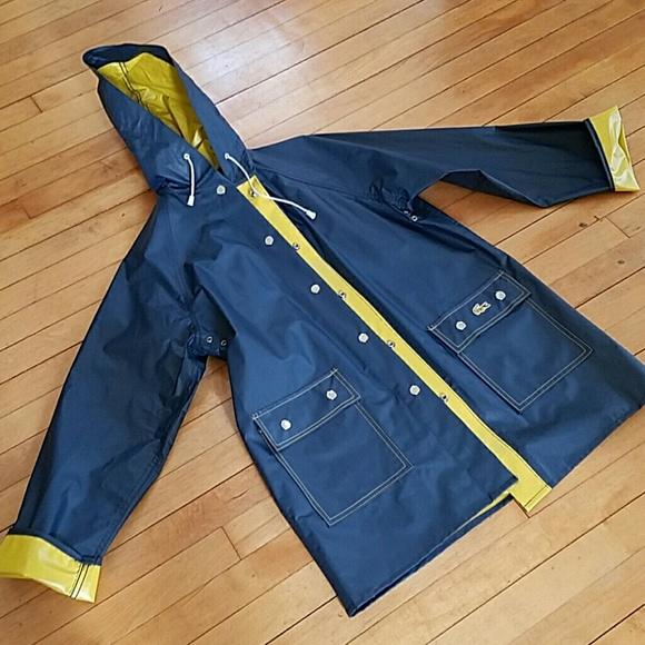 08adab73ee0c Lacoste Jackets   Blazers - Vintage IZOD Lacoste Reversible Raincoat