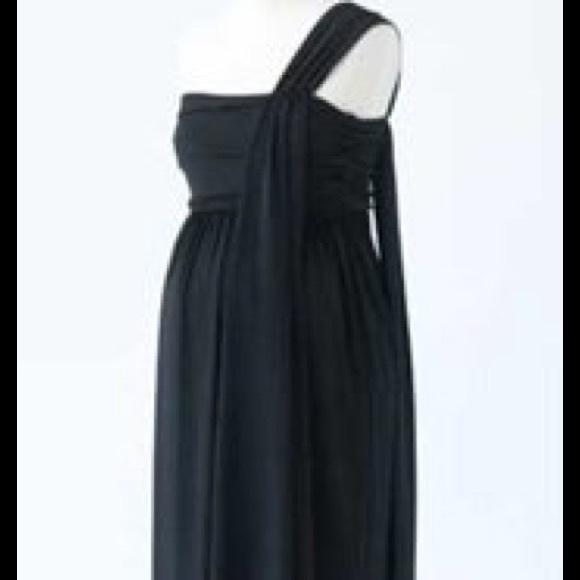 Hatch Grecian Maxi Maternity Dress