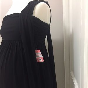 Hatch Dresses - Hatch Grecian Maxi Maternity Dress