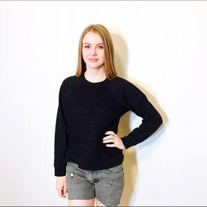 COS Sweaters - COS BLACK TEXTURED ALPACA PULLOVER SWEATER #130