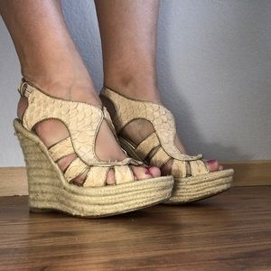 House of Harlow 1960 Shoes - House Of Harlow 1960 Wedges with Platform Size 6