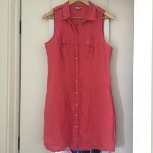 Guess Larissa Linen Dress