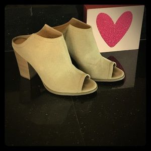 Restricted Shoes - Booties with open back