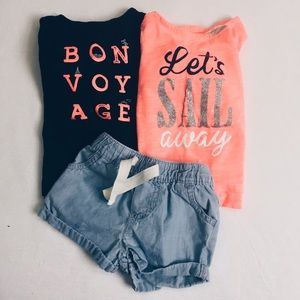 Carter's Other - 🎉 Spring Tops & Shorts