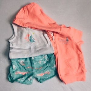 Carter's Other - Three Piece Beach Set