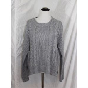 Forever 21 Sweaters - FOREVER21 heather grey chunky knitted sweater