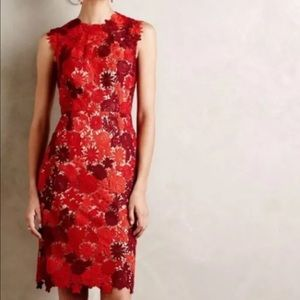 Anthropologie Dresses & Skirts - ISO  ANTHRO HD IN PARIS red lace dress