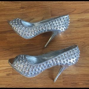 Wild Pair Shoes - Women's Spiked heels