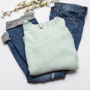 J. Crew Factory Sweaters - ❗️3 fr $15❗️JCrew Factory Warm Spun Waffle Sweater