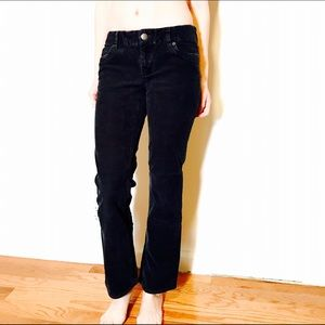 J. CREW STRETCH BOOTCUT CORD DARK BLU FAV FIT #263