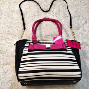 Betsey Johnson Handbags - 🌹 HP 🆕 Betsey Johnson Hidden Treasure Satchel