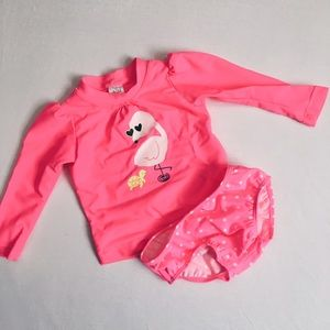 Carter's Other - Flamingo Swim Set
