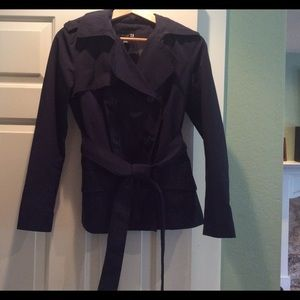 Cute Forever 21 Cropped Trench Coat