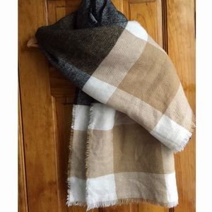 Anthropologie Accessories - Blanket Scarf SO SOFT Warm & Comfy NWOT