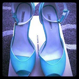 Kathryn Amberleigh Shoes - Kathryn Amberleigh Peep toe ankle strap pump