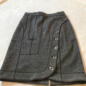 Derek Lam Dresses & Skirts - Derek Lam Wool/Cashmere Button Skirt
