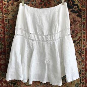 LRL Linen Trumpet Skirt