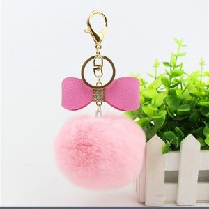 Accessories - 🌺bogo🌺pompom keychain: keyring for phone/purse