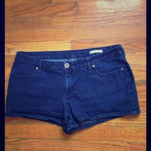 City Streets Pants - City Streets - Dark Blue Denim Shorts - Size 15