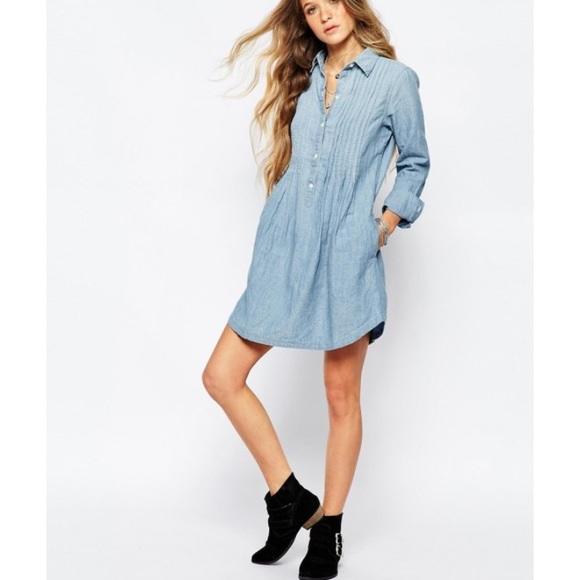classic fit detailed images sleek Denim & Supply Ralph Lauren Dresses | Ralph Lauren Pintuck ...