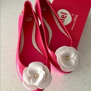 Melissa Shoes - ❤️Melissa❤️ cute pink jelly flats