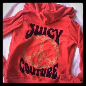 Juicy Couture Zip up Hoodie❤️