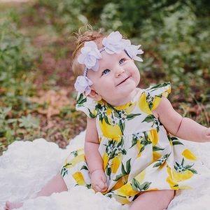 Lunabybaby Other - Lemon Print Dress