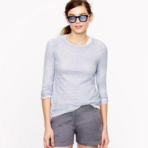 J Crew Sparkle Crewneck Sweater