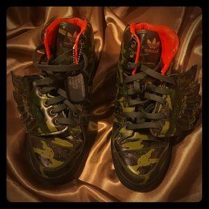 Jeremy Scott x Adidas Shoes - Jeremy Scott Adidas Camouflage Wings