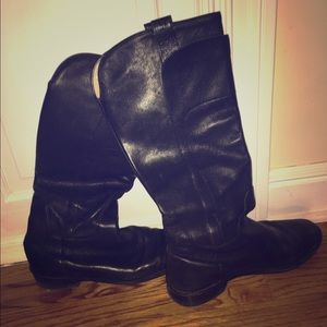 Frye Black Riding Boot
