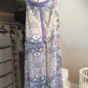 LF Stores Dresses & Skirts - LF stores dreamy maxi skirt. Sheer from mid thigh
