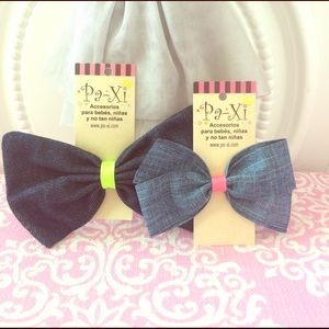 Paxi Other - Jumbo Jean Bow w/free Bow!