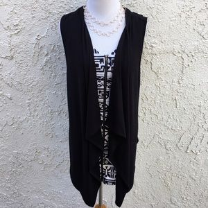 Zenana Outfitters Sweaters - 🆕 Cascading Vest Cardigan