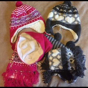 Girls hat and scarf set Bundle!