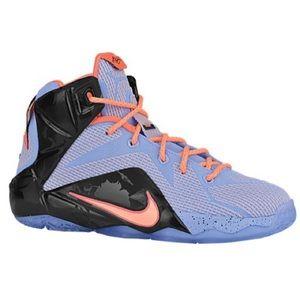 Nike Other - NIKE LEBRON XII Easter Boy's Sneaker
