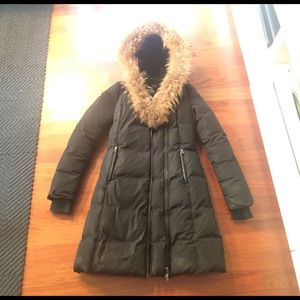 Mackage Down Coat with Fur Collar