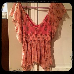 Cold shoulder Top by Free People