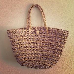 San Diego Hat Company Handbags - Straw Beach Bag
