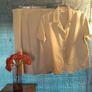 Alfred Dunner Dresses & Skirts - Alfred Dunner Skirt Set SZ 16 NWT