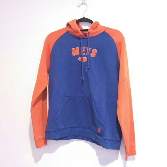 new product 1474d 8c271 NIKE NY Mets kids HOODIE swoosh 12 14 youth